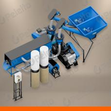 Linia do produkcji pelletu PELETON DUO | 76 kW | 800 kg/h dla pelletu